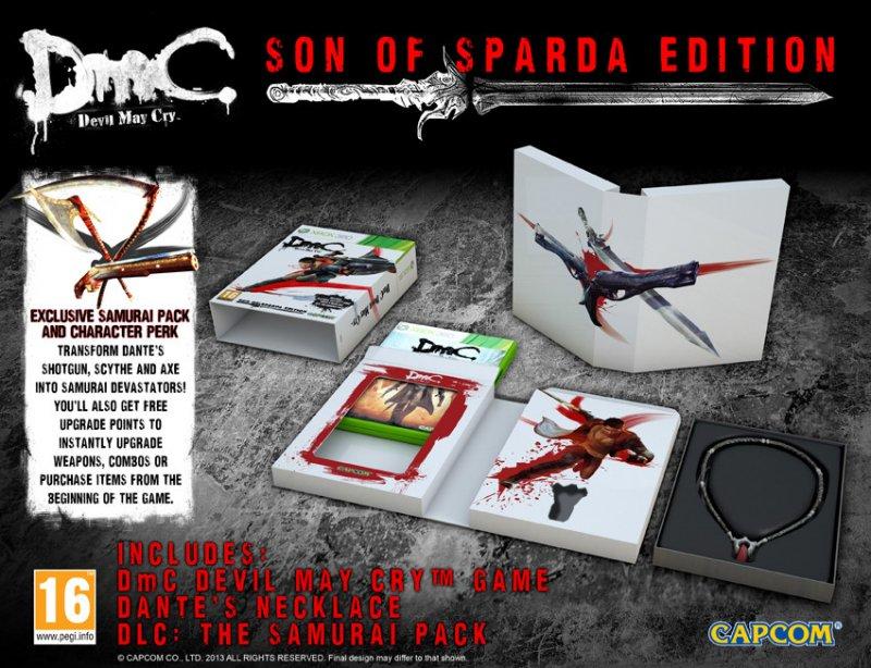 """DmC: Devil May Cry - Ecco la """"Son of Sparda Edition"""""""