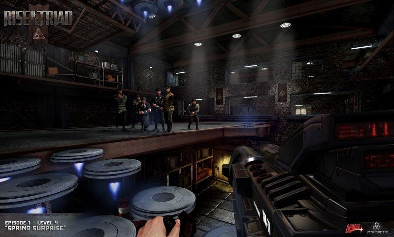 Gli sviluppatori di Rise of the Triad parlano degli scenari del gioco