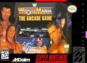 WWF Wrestlemania: The Arcade Game per Super Nintendo Entertainment System