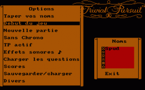 Trivial Pursuit per PC MS-DOS
