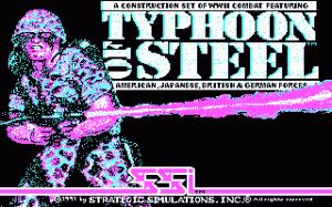 Typhoon of Steel per PC MS-DOS