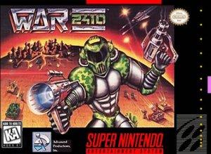 War 2410 per Super Nintendo Entertainment System