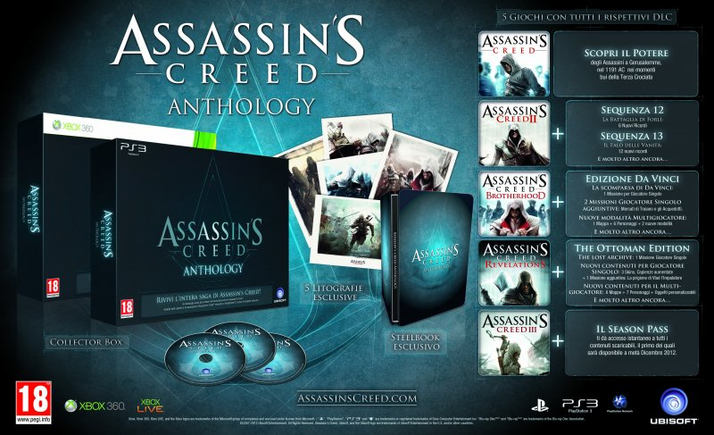 Assassin's Creed Anthology - Immagine e dettagli ufficiali