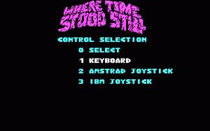 Where Time Stood Still per PC MS-DOS