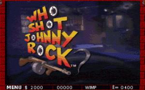 Who Shot Johnny Rock? per PC MS-DOS