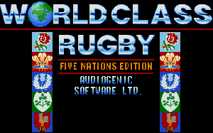 World Class Rugby per PC MS-DOS