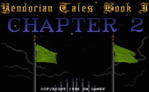 Yendorian Tales Book I: Chapter 2 per PC MS-DOS