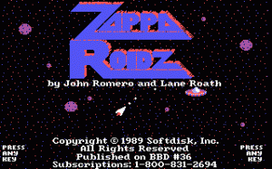 Zappa Roidz per PC MS-DOS