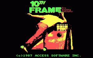 10th Frame per PC MS-DOS
