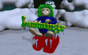 3D Lemmings Winterland per PC MS-DOS