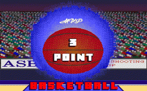 3 Point Basketball per PC MS-DOS