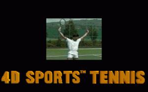 4D Sports Tennis per PC MS-DOS