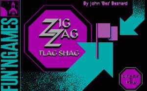Zig Zag Flag Shag per PC MS-DOS