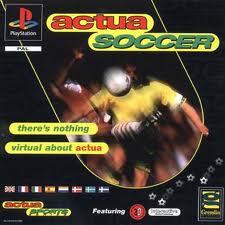 Actua Soccer per PlayStation