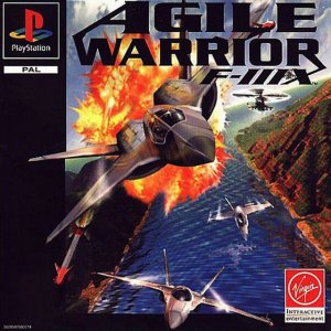 Agile Warrior F-111X per PlayStation
