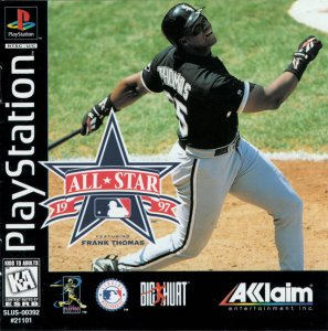 All-Star 1997 Featuring Frank Thomas per PlayStation