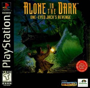 Alone in the Dark: One-Eyed Jack's Revenge per PlayStation