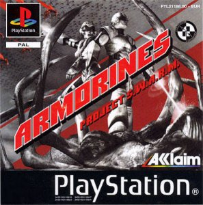 Armorines: Project S.W.A.R.M. per PlayStation