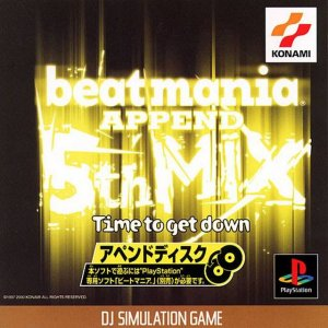 BeatMania Append 5th Mix: Time to Get Down per PlayStation