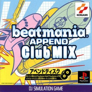 BeatMania Append Club Mix per PlayStation