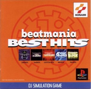 BeatMania Best Hits per PlayStation