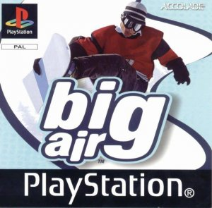 Big Air Snowboarding per PlayStation