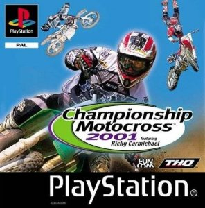 Championship Motocross 2001 Featuring Ricky Carmichael per PlayStation