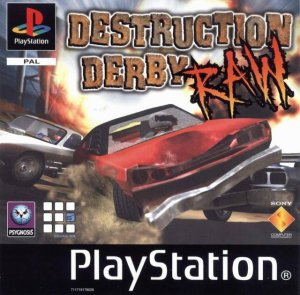 Destruction Derby Raw per PlayStation