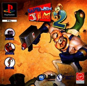 Earthworm Jim 2 per PlayStation