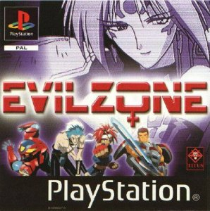 Evil Zone per PlayStation