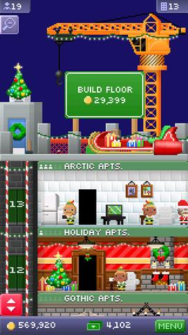 Tiny Tower - Un update natalizio