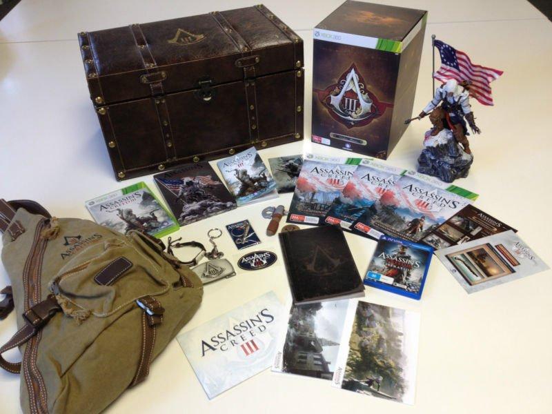 Un'edizione speciale di Assassin's Creed III all'asta per beneficenza