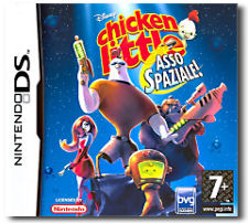 Chicken Little: Asso Spaziale (Chicken Little: Ace in Action) per Nintendo DS