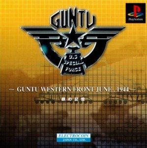Guntu Western Front June, 1944 per PlayStation