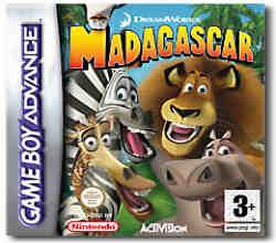 Madagascar per Game Boy Advance