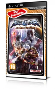 Soul Calibur: Broken Destiny per PlayStation Portable