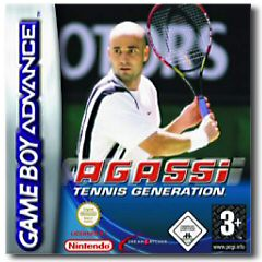 Agassi Tennis Generation per Game Boy Advance