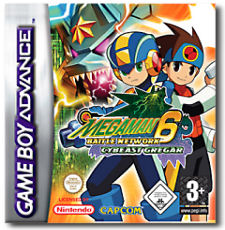 Mega Man Battle Network 6: Cybeast Gregar per Game Boy Advance