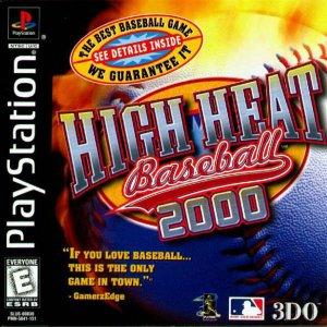 High Heat Baseball 2000 per PlayStation