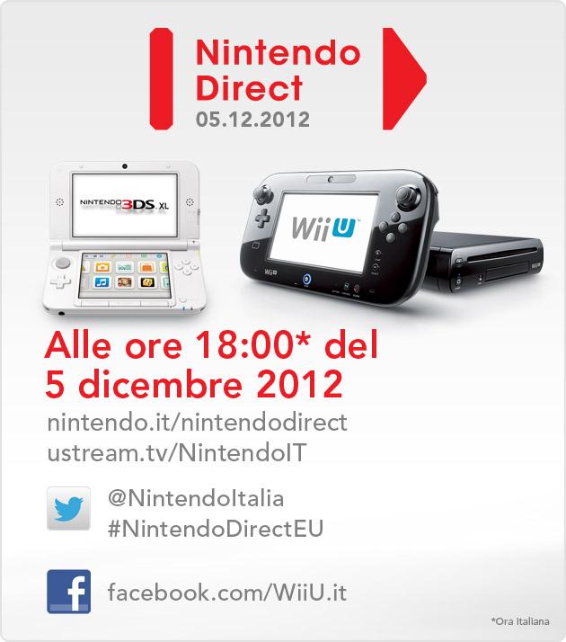 Nintendo Direct - Domani una nuova video conferenza dedicata a Wii U e 3DS