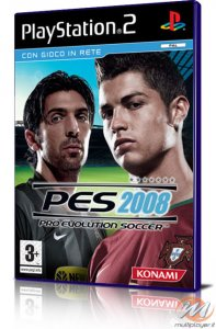 Pro Evolution Soccer 2008 per PlayStation 2