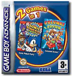 Sonic Pinball + Columns per Game Boy Advance