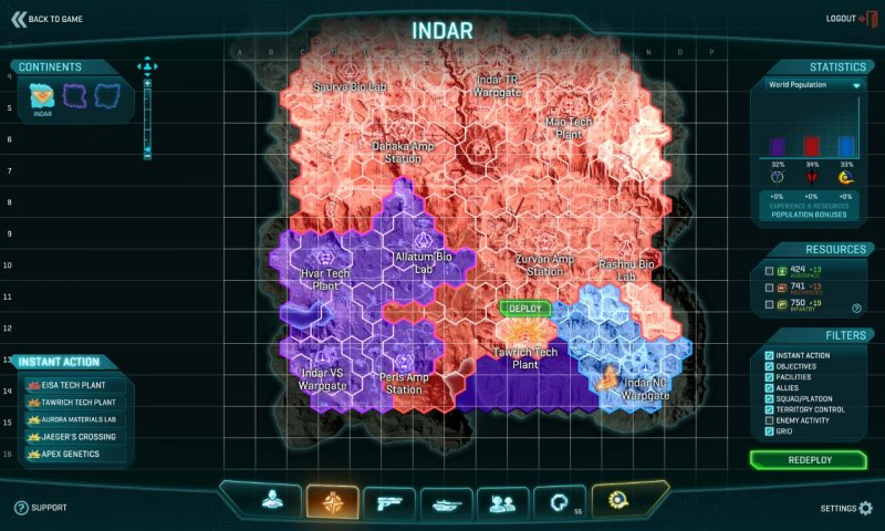 Un pianeta in guerra