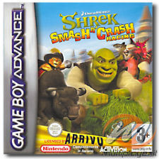 Shrek Smash n' Crash per Game Boy Advance