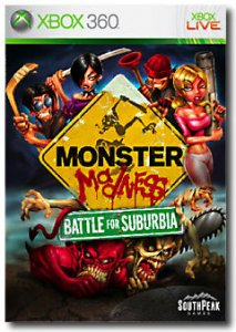 Monster Madness: Battle for Suburbia per Xbox 360