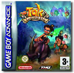 Tak: La Grande Sfida Juju (Tak: The Great Juju Challenge) per Game Boy Advance