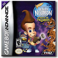 Jimmy Neutron Attack of the Twonkies per Game Boy Advance