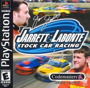 Jarrett and Labonte Stock Car Racing per PlayStation