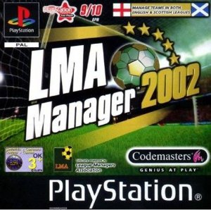 LMA Manager 2002 per PlayStation