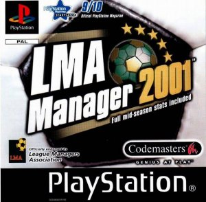 LMA Manager 2001 Scottish Pack per PlayStation